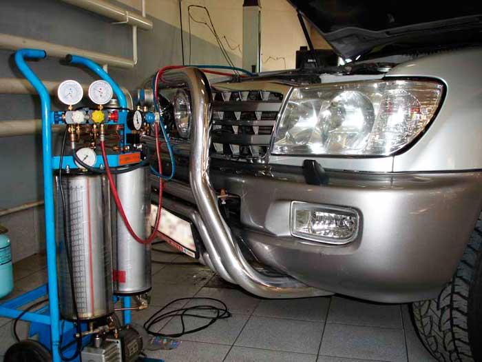 Автомобильный кондиционер ремонт цена в Москве Лефортово